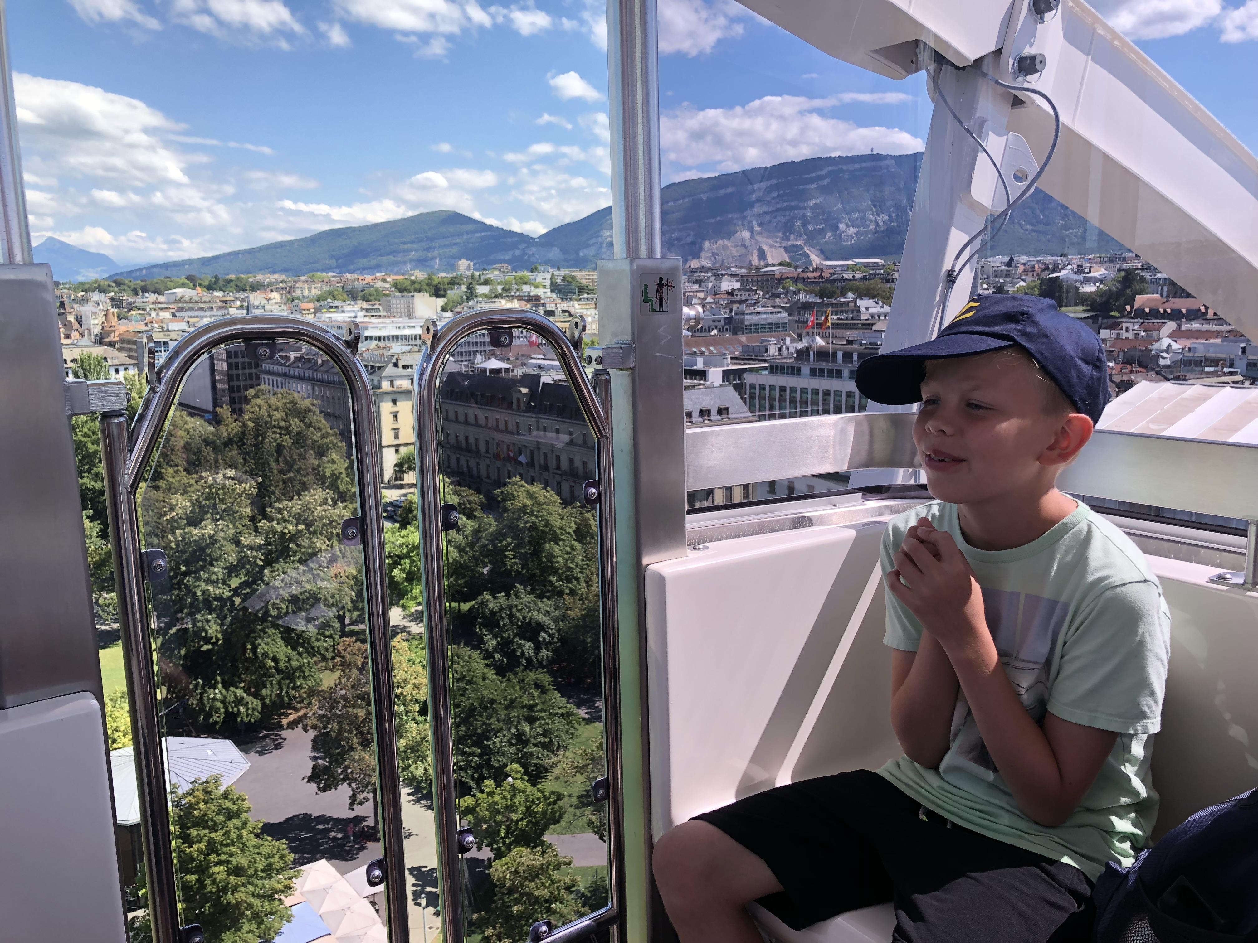 Aboard the Swisswheel