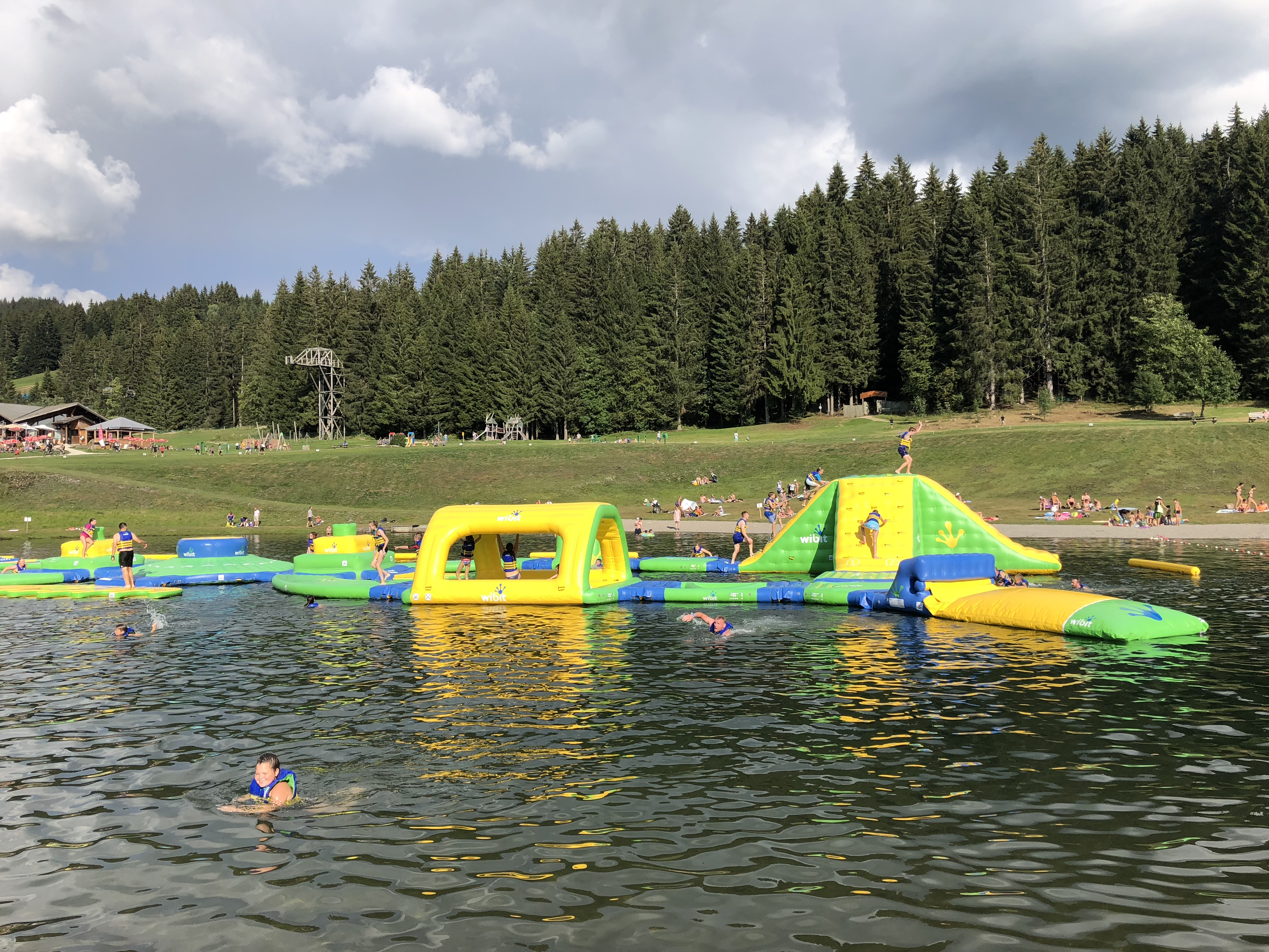 Webit on the lake